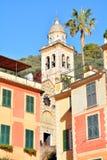 Portofino San Martino church Stock Image