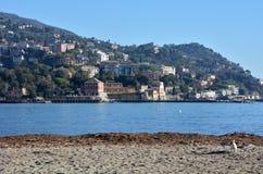 Portofino shore landscape Stock Photo