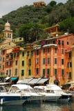 Portofino specificerar royaltyfri bild