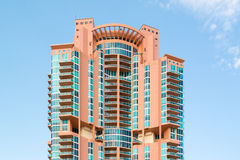 Portofino torn i Miami den södra stranden, Florida Royaltyfria Bilder