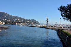 Portofino town statue Stock Images