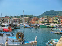 Portofino vacation resort Stock Photos