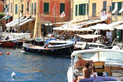 Portofino variopinto Fotografia Stock Libera da Diritti