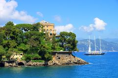 Portofino Villa Royalty Free Stock Photos