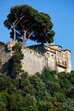 Portofino village Stock Images