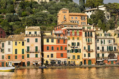Portofino Village - Genova Liguria Italy Stock Photography