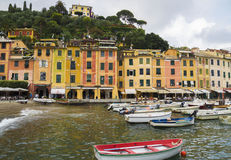 Portofino Village ,Italy Royalty Free Stock Photo