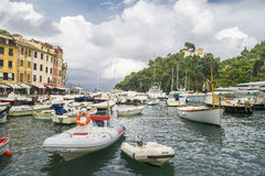 Portofino Village ,Italy Royalty Free Stock Photography