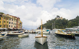 Portofino Village ,Italy Stock Images