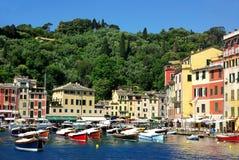 Portofino village , Italy Stock Photos