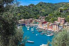 Portofino village, Liguria, Italy Royalty Free Stock Photo