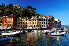 Portofino village on the Ligurian Coast. Italy Royalty Free Stock Photo