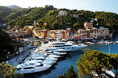 Portofino village on the Ligurian Coast Stock Image
