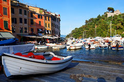 Portofino village on the Ligurian Coast. Italy Stock Photography