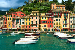 Portofino village on Ligurian coast, Italy Royalty Free Stock Photography