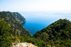 Portofino village on Ligurian coast in Italy. Portofino village on Ligurian coast, Italy Royalty Free Stock Images