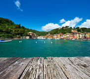 Portofino village on Ligurian coast, Italy Stock Photos