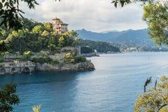 Portofino village on the Ligurian Coast, Italy Royalty Free Stock Images