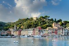 Portofino village on the Ligurian Coast, Italy Royalty Free Stock Photos
