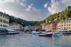 Portofino village on the Ligurian Coast, Italy Stock Images