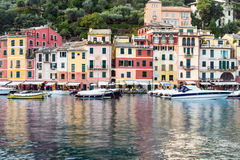 Portofino village on the Ligurian Coast, Italy Stock Photos