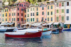 Portofino village on the Ligurian Coast, Italy Stock Photography