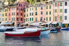 Portofino village on the Ligurian Coast, Italy Stock Photography