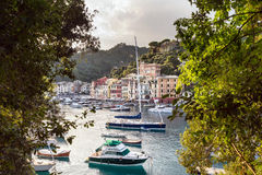 Portofino village on the Ligurian Coast, Italy Stock Image