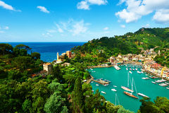 Free Portofino Village On Ligurian Coast, Italy Stock Image - 32826551