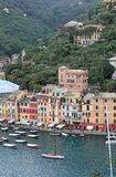 Portofino village view, Italy. Royalty Free Stock Image
