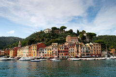 Portofino yacht port , Italy Royalty Free Stock Photos