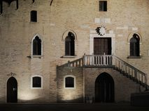 Portogruaro. Ancient building Portogruaro, Venezia, Italy Stock Photography