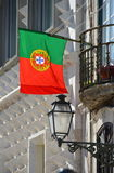 Portoguese flag Royalty Free Stock Photos