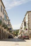 Portomarin cityscape, Road to Santiago de Compostela, Castilla y Leon Royalty Free Stock Photography