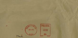 Portometer från Warszawa Royaltyfri Foto
