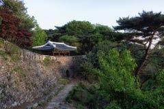 Portone ad ovest di Namhansanseong immagine stock libera da diritti