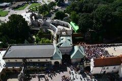 Portone al monastero in Czestochowa Immagine Stock