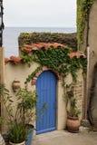 Portone in Collioure fotografia stock libera da diritti