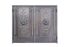 Portone decorativo del metallo Fotografie Stock