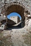 Portone del castello Fotografia Stock Libera da Diritti