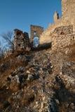 Portone del castello Fotografie Stock