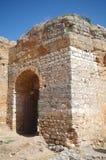 Portone del castello di Padernes Immagini Stock Libere da Diritti