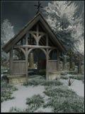 Portone del cimitero Fotografia Stock Libera da Diritti