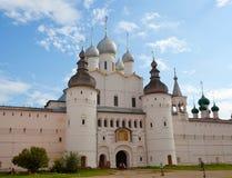 Portone del Cremlino di Rostov Fotografia Stock Libera da Diritti