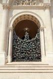 Portone del ferro di St Peter e della st Paul Basilica a Pecs Ungheria Fotografia Stock