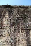 Portone del nord di Angkor Thom fotografie stock