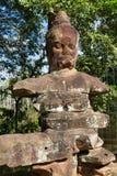 Portone del nord di Angkor Thome Immagine Stock