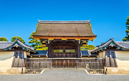 Portone del palazzo imperiale di Kyoto-gosho Immagine Stock Libera da Diritti