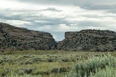 Portone del ` s del diavolo, Wyoming Fotografia Stock Libera da Diritti