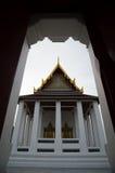 Portone del tempio Immagine Stock